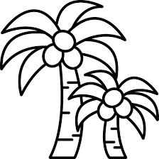 朝顔あさがおの花のライン飾り罫線イラスト 無料フリーイラスト