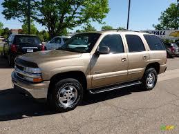 2000 Sunset Gold Metallic Chevrolet Tahoe LT 4x4 #64510751 ...