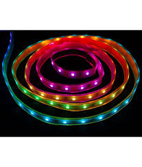 neon lighting for home. Rinnovare Multicolor Waterproof Led Strip Neon Lights For Home, Diwali And Office Modification-6w Lighting Home