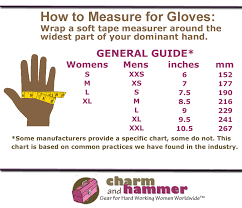 Charm And Hammer How To Measure For Ppe Size Charts