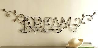 dream wall decoration metal vine wall art exclusive design dream wall art decor target es big dream wall