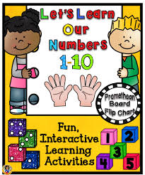 Interactive Number Flip Chart Lets Learn Our Numbers 1 10 Promethean Board Flip Chart