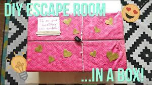 Escape Room Design Ideas Diy Escape Room In A Box Gift Idea