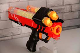 Nerf Magazine Holder Rival Zeus Apollo Dual Mag Holder Cam Lock Design Blaster 49