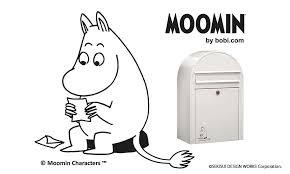 大人気北欧のキャラクタームーミンデザインの郵便ポストが登場 2