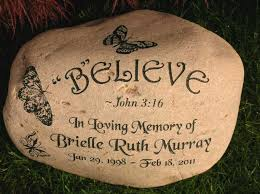 Bible Quotes Inspiration Engraved Rock Large Engraved River Rock Bible Quote
