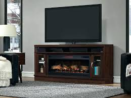 m cherry wood stand with electric fireplace and storage cabinet player rack