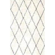 cotton area rug cotton diamond gy ivory 4 ft x 6 ft area rug cotton area cotton area rug
