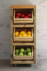 Vegetable Crate Stand