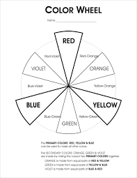 Primary colors, secondary colors, warm & cool colors, analogous colors, value, and complementary colors. The Color Wheel Hs Art