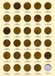 Wheat Pennies From 1930 To 1940 Coin Collecting Wheat