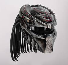 rezzer predator wolf 13 custom motorcycle helmet predator