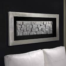 black framed wall art uk