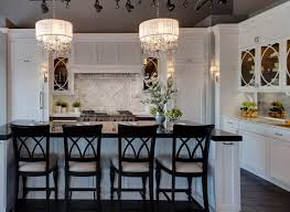 living fascinating white drum shade chandelier 27 inspiring light black with crystals kitchen traditional counters counter