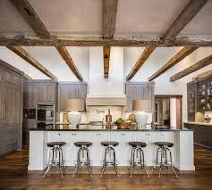 country style kitchen with rustic wood ceiling cross beams rustic country kitchens white cabinets h41 kitchens