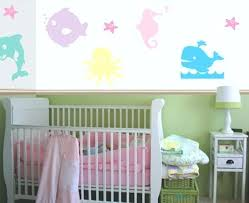 ocean wall decals girls pastel ocean wall decals create a mural ocean wall decals