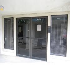 office entrance doors. Hot Sales Aluminum Frame Tempered Glass Entrance Door With All Accessories Office Doors D
