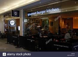 Gourmet Burger Kitchen Covent Garden Upmarket Burger Stock Photos Upmarket Burger Stock Images Alamy