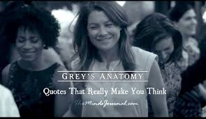 Grey's Anatomy Quotes Custom 48 Grey's Anatomy Quotes That Really Make You Think