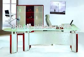 tempered glass office desk. Big L-Shaped Modern Design Glass Executive Office Table- Manager Desk ( FOHXL Tempered F