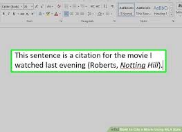 ways to cite a movie using mla style wikihow image titled cite a movie using mla style step 14