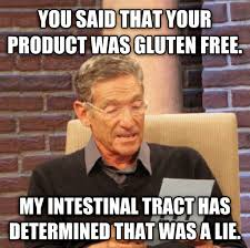 8 things those living a gluten free lifestyle never want to hear. via Relatably.com