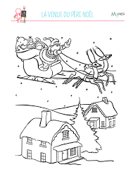 Dessin Village De Noel A Imprimer Duilawyerlosangeles