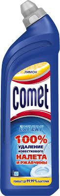 <b>средство</b> д туалета comet весенняя свежесть гель <b>0 75л</b> | novaya ...