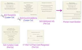 Make Your Own Wedding Pocket Fold Pocket Fold Design Ideas