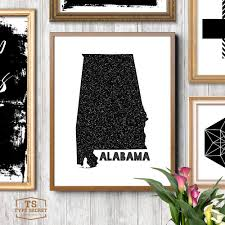 alabama home decor alabama wall decor alabama wall art alabama state map alabama state print alabama on alabama state wall art with alabama home decor alabama wall decor alabama wall art alabama state