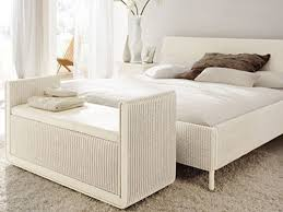 Full Size Of Bench:wicker Bench With Storage White Wicker Bench With Arms  And Fabric ...