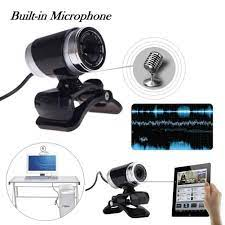 ABS HD Pro Webcam Widescreen Video Calling And Recording 1080p Camera PC  Live Cams Hd Camera Web Kamera Live Webcam AC/DC Adapters