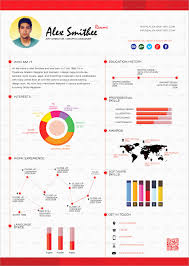 Infographic Resume Template Word Free Download Amazing 4 Templates
