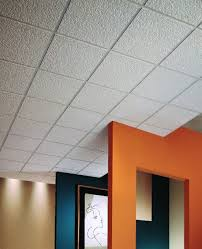 Interior: Simple Small Texturized Ceiling Panels Design - Drop Ceiling  Light Panels