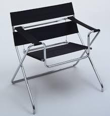 Marcel Breuer. Folding Armchair (model B4). 1927. TECTA Mbel, Lauenfrde