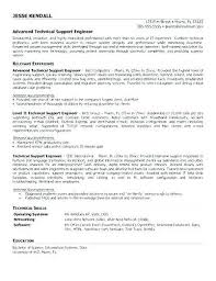 It Support Engineer Sample Resume Impressive Sample It Support Manager Resume Technical Support Job Description