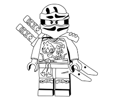 Lego Ninjago Coloring Pages Fearsome Lloyd Kai Free Printable To