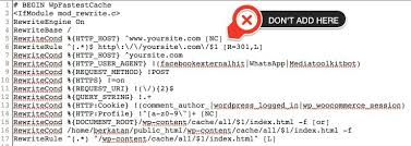 Redirection to /wp-content/cache/all/index.html Problem | Wp Fastest ...