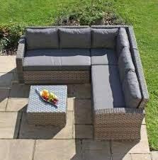 rattan corner sofa furniture sofa set