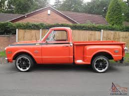 1968 CHEVROLET C10 STEP SIDE FITTED WITH 410 CHEVY SHORT BLOCK