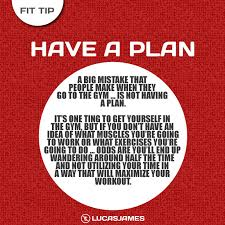 A Fitness Plan Fit Tip Have A Fitness Plan