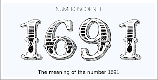 Angel Number 1691 Numerology Meaning Of Number 1691