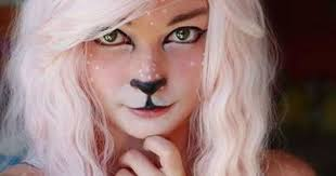 fun faun makeup how to do fawn cosplay makeup tutorial quick easy diy