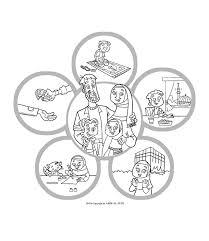 worksheet for kindergarten my body islamic clipart - Clipground