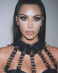 her own stock the makeup turned out to be from kim s kkw x