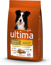 Ultima Medium Maxi Adulte Croquettes Poulet Riz Pour Chien