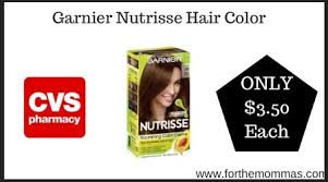 Garnier nutrisse hair color printable coupon. Cvs Garnier Nutrisse Hair Color Only 3 50 Each Starting 5 31