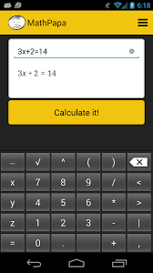 captivating algebra solutions calculator in mathpapa algebra calculator android apps on google play