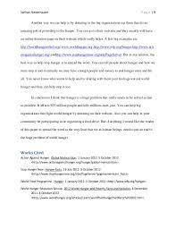 world hunger research paper final 3