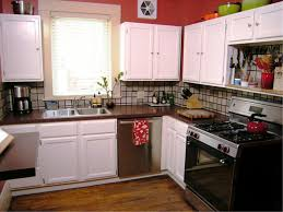 Old Metal Kitchen Cabinets Metal Kitchen Cabinets Update Outdated Cabinets By Adding Sheet